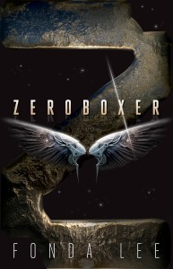 The cover of Zeroboxer by Fonda Lee.