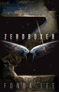 The cover of Zeroboxer by Fonda Lee.