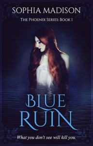 The cover of Blue Ruin by Sophia Madison