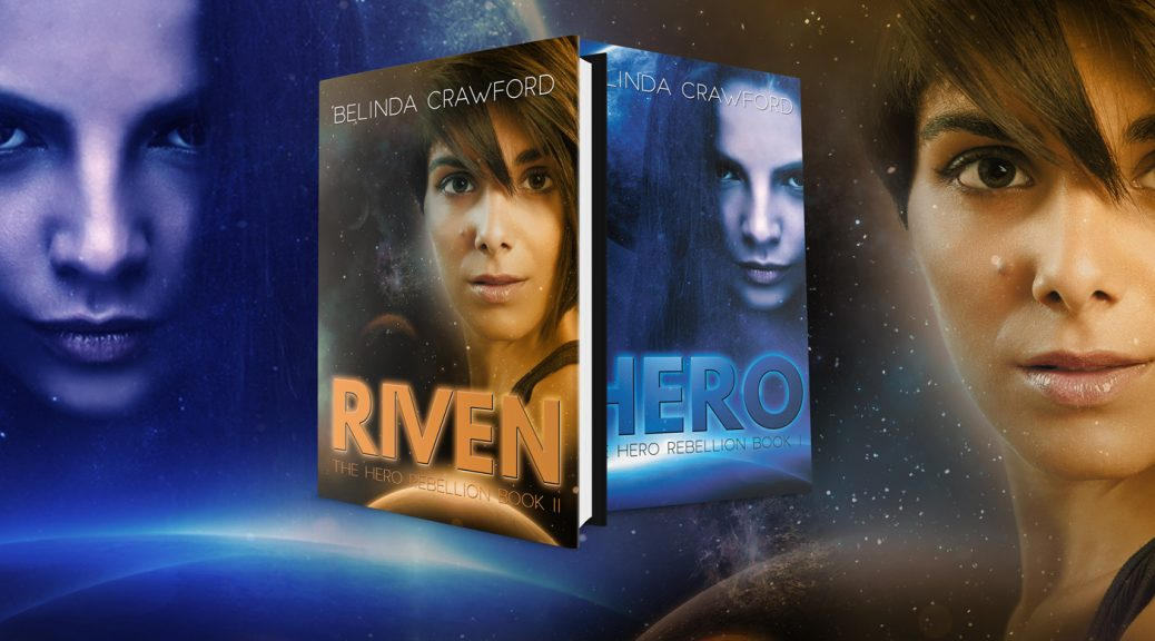 The Hero Rebellion, a sci-fi adventure for teens. Available as both a paperback and ebook.
