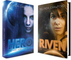 Grab a signed paperback of Hero and Riven!