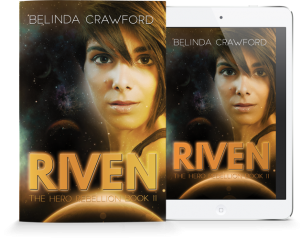 Riven: The Hero Rebellion book 2 is available as both an ebook and paperback.
