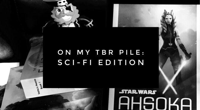 Sci-fi books on my TBR pile