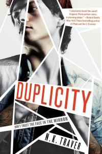 The cover of Duplicity by N.K. Traver