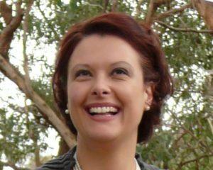 Carolyn Gilpin, author of Facing Up.