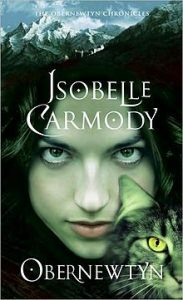 The cover of Obernewtyn by Isabelle Carmody