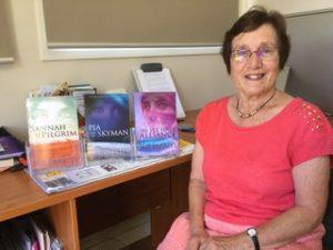 Sue Parritt, author of Sannah and the Pilgrim