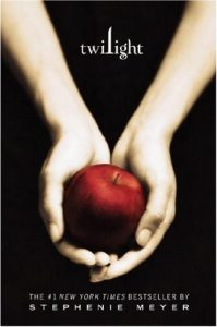 The cover of Twilight by Stephanie Meyer