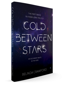 The cover of Cold Between Stars, the first book in a new Jørn trilogy. Coming 2020.