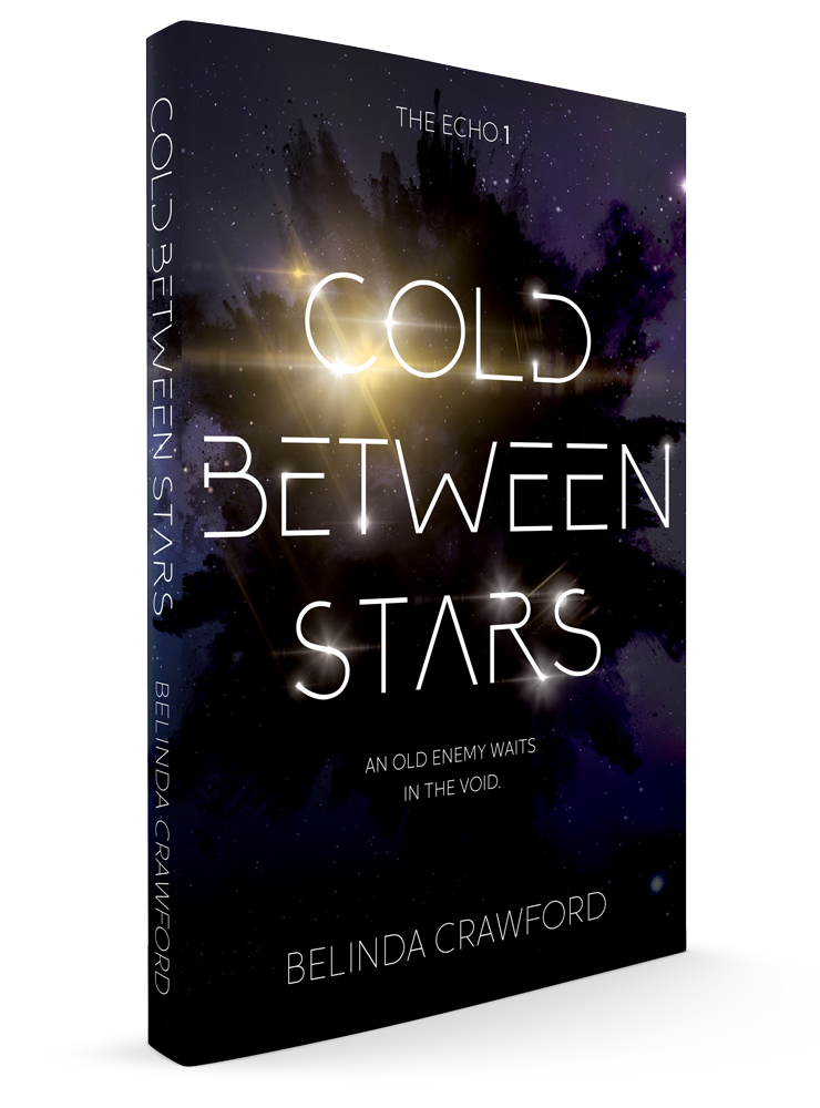 The cover of Cold Between Stars, launching Jan 2020.