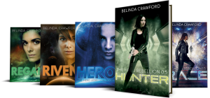 The Hero Rebellion series, including the novellas Hunter and Race.