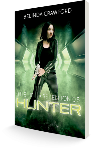 The cover of Hunter (The Hero Rebellion 0.5)