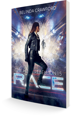 The cover of Race (The Hero Rebellion 1.5)