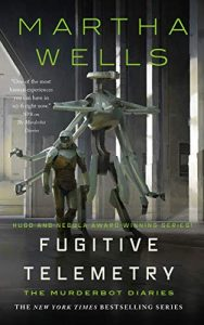 The cover of Fugitive Telemetry by Martha Wells.