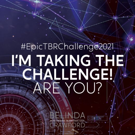 #EpicTBRChallenge2021: I'm taking the challenge! Are you?