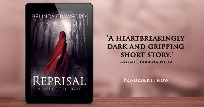 Pre-order Reprisal now! 'A heartbreakingly dark and gripping short story.' --Sarah F, Goodreads review.