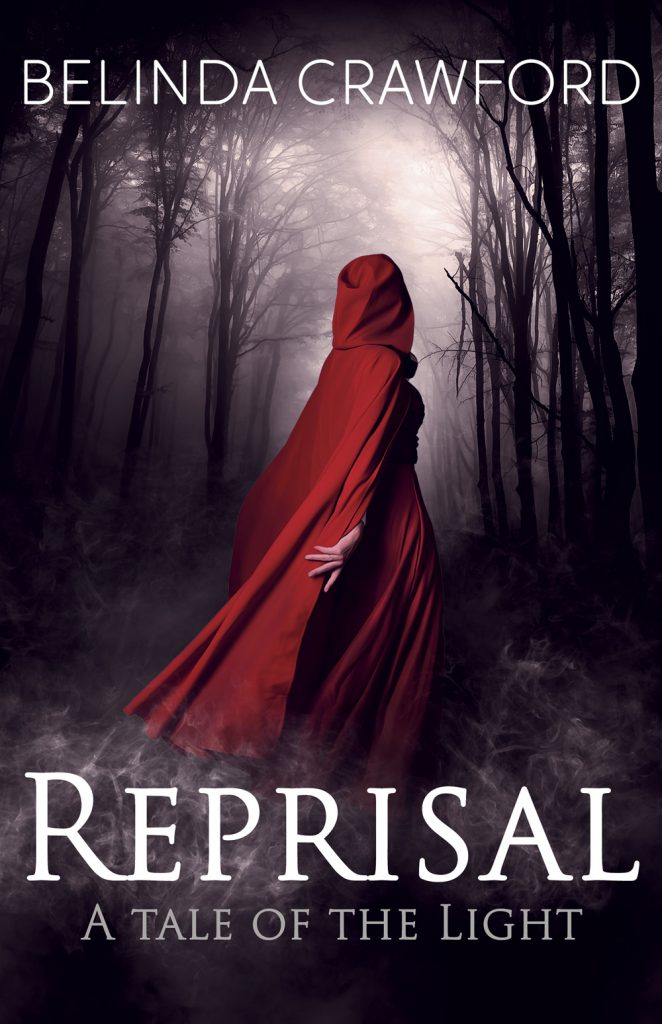 The cover of Reprisal: A Tale of the Light by Belinda Crawford.